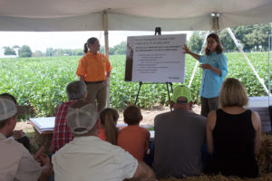 Presentation given during a No Till Field Day event