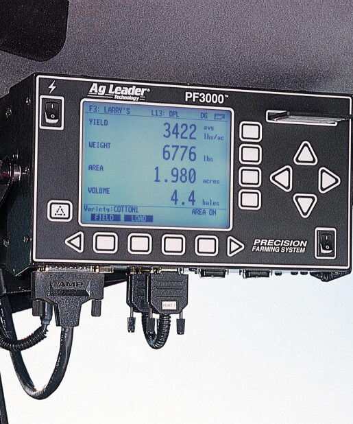 AgLeader PF3000 display monitor for grain and cotton